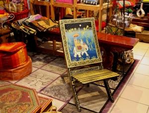 Chaise pliante du Rajasthan existe en plusieurs couleurs